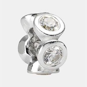 RETIRED! Pandora Circle Lights Spacer 790226CZ